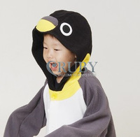 Free Shipping Hot Unisex Kigurumi Pajamas Animal Pyjamas Children Onesies Anime Cosplay Costumes Sleepwear For Kids,Penguin