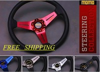Car modified steering wheel momo automobile race 14 steering wheel fashion personality steering wheel