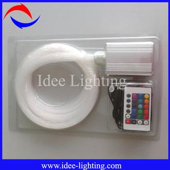 200pcs:1.0mm 5W mini starry ceiling fiber optic light kit for sales