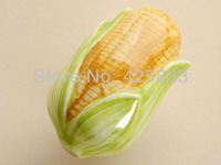 Single Corn Cartoon Ceramic Cabinet Handles Kitchen Pulls Dresser Knobs Drawer Handles kitchen cabinet