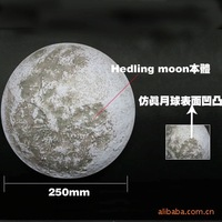 Free shipping Second generation remote control moon light moon light wall lamp home decoration lamp birthday gift
