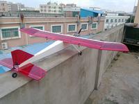 RC glider nitro plane / 15 class Swan glider nitro airplane