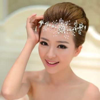 Crystal Hairbands Wedding Head Wear, Christmas Women Jewelry Wedding Accessory Bridal Pearl Hairband Headwear Wedding