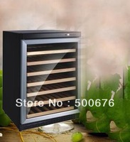 Sicao jc-150a compressor temperature wine cooler wood shelf 54