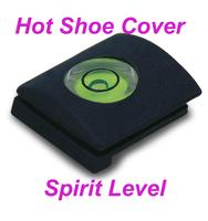Free Shipping +Tracking Number Wholesale 5PCS/Lot Hot Shoe Cap Cover Bubble Spirit Level For Canon Nikon Pentax