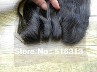 Factory price virgin Indian closure 4x4 body wave 3 way part lace top closures bleached knots swiss lace closure Free shipping