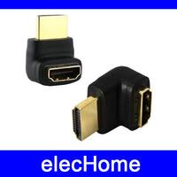 HDMI Adapter 90 Degree Right Angle HDMI Converter HDMI to HDMI Free Dropshipping