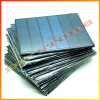 20pcs/lot 6V 0.6A 3.5W mini solar panels small solar power 3.6v battery charge solar led light solar cell drop shipping-10000596
