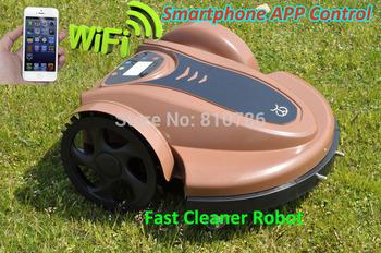 2014 Newest Cheapest Lead acid battery Robot Lawn Garden Mower 3cm/4cm Cutting Height ,Cutting width 28cm,Cutting Speed 20M/min