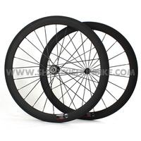 Freeshipping! 700C 50mm profile, carbon wheelset clincher road, Upower Toroidal Rims, YS-CC2-50C