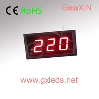 4inch 3digits indoor counter red 7 segment led display