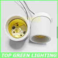 Free Shipping 5 x Lampen Ceramic Base E14 Lamp Holder for Light Bulb E14 Socket Ceramic Base Ceiling Mounted Lamp Socket