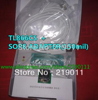 Lowest Price  Free shipping2014 V6.0 Updated MiniPro TL866cs True USB Willem TL866 Programmer + SOP8 ADAPTER 150MIL