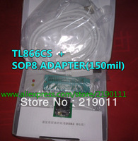 Lowest Price  Free shipping2014 V6.0 Updated MiniPro TL866cs True USB Willem TL866 Programmer + SOP8 ADAPTER 150MIL