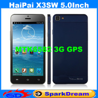 HaiPai i9389 Quad Core Phone With MTK6589 Android 4.2 3G GPS Wifi 8MP Camera  4.7 inch Touch Screen Capacitive Smart Phone