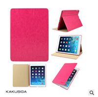 Best quality 5pcs/lot  Cut Korea Moss doll bow  Leather case cover  for ipad 2/3/4