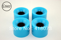 Free Shipping PU BLUE 60Mm*45MM Skateboard Wheel Penny Skateboard Wheel longboard wheels
