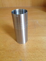 Free Shipping of 10pcs Stainless Steel Straight double jigger, Measuring Cup at 30/60ml