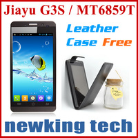 SG Post Free Shipping 3000mah Jiayu G3S Silver Black in stock MTK6589T 1.5Ghz Quad Core Smart Phone
