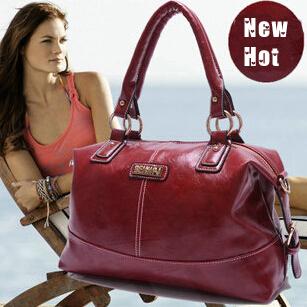women oil wax leather handbags new 2014 fashion vintage luxury brand designer ladies shoulder messenger tote leather bags