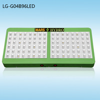 2014 New Reflector Led Grow Light 300W (LG-G04B96LED) Full Spectrum 11 Band Growth / Bloom Switches For Hydroponics Lighting