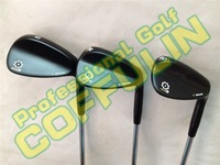 2014 SM5 Golf Wedges With Steel Shafts Golf Clubs 52/56/60Degree Silver/Black/Champagne