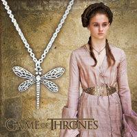 Game Of Thrones Necklace Pendant, Sansa Stark  Dragonfly Necklace Pendant,Retro  Classical Necklace