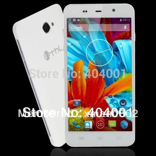 Free Flip case THL W200 W200S W200C MTK6592M Octa core phone 1G RAM 8G ROM Gorrila IPS Screen WIFI GPS OTG WCDMA cell phone W(China (Mainland))