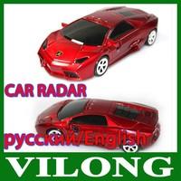 New2014 - Led Display Car Detector Car radar detector Russian/English with +wholesale car Anti Radar Detector factory