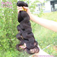 cheapest natural virgin queen berry hair products 2 piece lot eurasian genesis virgin brazilian human hair exstensions