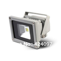 Free Shipping  outdoor lighting floodlights 85V~265V IP65 10w/20w/30W/50W LED Flood Light white/warm whiteHigh Power Waterproof