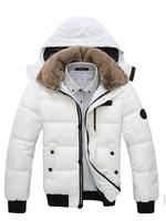 F1017 New 2014 autumn -summer men down jacket and men's winter jacket and Men's coat Winter overcoat Outwear