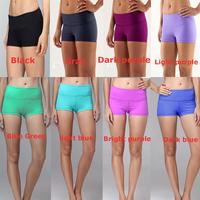 cheap Four way stretch women yoga Shorts,Discounted Yoga Shorts/Skinny Shorts,  hot sale women yoga wear