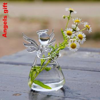 Hot sales Valentine's Day Gift  Angel Vase Handmade flower vase home decoration fashion Holiday gift birthday gift