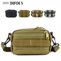 MOLLE Enhanced Running Muddy Kit Tool Utility Waist Bag Heavy Duty Advance Defense Ultra-light Range Tactical Gear Free Shipping