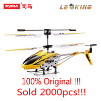 Free shipping ! Hot Sale 22cm Original Syma S107 S107G mini metal 3.5CH RC helicopter model toys with gyro !