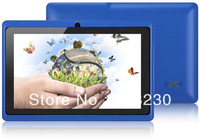 "Free Shipping Worldwide Q88 Tablet PC 7"" Allwinner A13 Android 4.2 CPU1.2GHz RAM DDR3 512MB ROM 4GB Camera OTG"