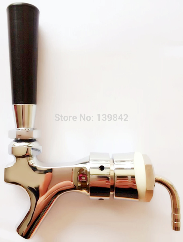 3 pieces US style brass material draft beer faucet/beer tap for tower or kegs for homebrew(China (Mainland))
