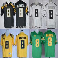 Ncaa Oregon Ducks #8 Marcus Mariota college football jerseys adult/ youth mix order free shipping