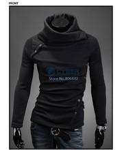 Wholesale!! 4Pcs/Lot Turtleneck Men's Casual Pullovers Sweater Male Knitting Sweaters 4Sizes B19 18878(China (Mainland))
