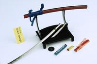 1:6 katana knife ,A god of death - city pill knife,anime figure toy,classic toys