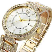 watch women fashion quartz wristwatches with rhinestone gift for girls ladies clock reloj mujer montre femme(China (Mainland))