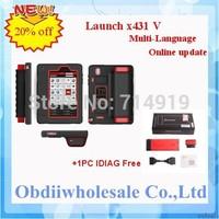 2014 original launch x431 v x431 pro auto diagnostic Online one-click update X-431 V fast dhl express