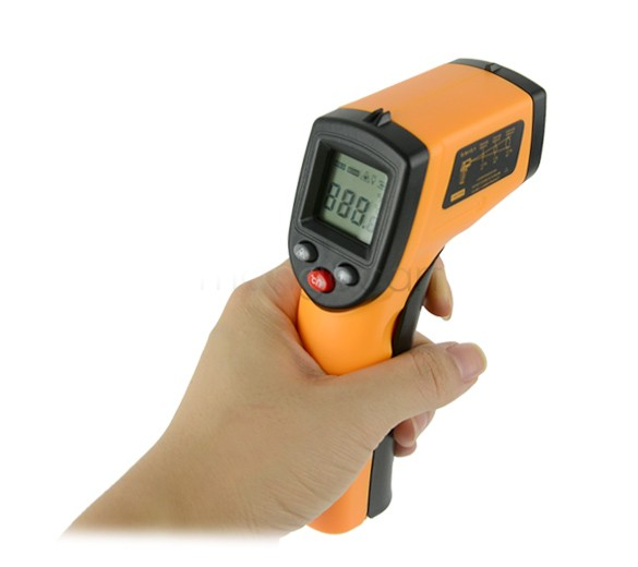 New Hot LCD Display Laser Digital IR Infrared Thermometer Non-Contact Thermometer High Quality GM320 -50~330 Degree 41(China (Mainland))