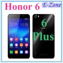 Huawei Honor 6 Plus Dual Sim 4G FDD LTE WCDMA EMUI 3.0 Hisilicon Kirin 920 1.7Ghz Octa Core 3GB RAM 16GB ROM mobile phone(China (Mainland))