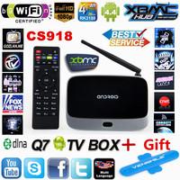 XBMC Fully Loaded ! Original Q7 MK888 CS918 Quad core 1G/ 8G RK3188 Android TV BOX smart tv Media Player Bluetooth WiFi Antenna