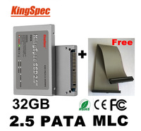 "kingspec 2.5 Inch 44PIN PATA/IDE SSD 32GB MLC 4-Channel 2.5"" Solid State Disk Flash Drive For computer ide laptop hard drives"