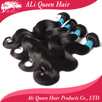 Queen hair products:queen hair peruvian virgin hair extenstion virgin peruvian body wave mixed length 4 pcs/ lot each size 1 pcs