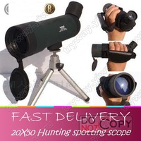 1 pcs Free Shipping(CHINA AIR MAIL),High quanlity 20x50 HUNTING SPOTTING SCOPE, Single-tube Telescope,Wholesale!