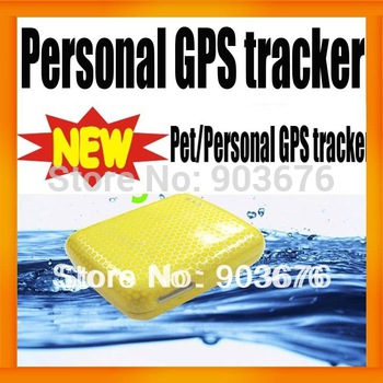 Mini Pet GPS Locater Tracker Waterproof GSM/GPS/GPRS 850/900/1800/1900Mhz Real Time Tracking